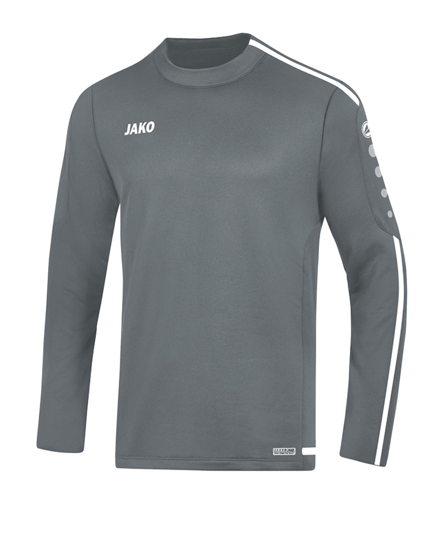 Jako Striker 2.0 Sweatshirt Kids Grau Weiss F40 - Grau