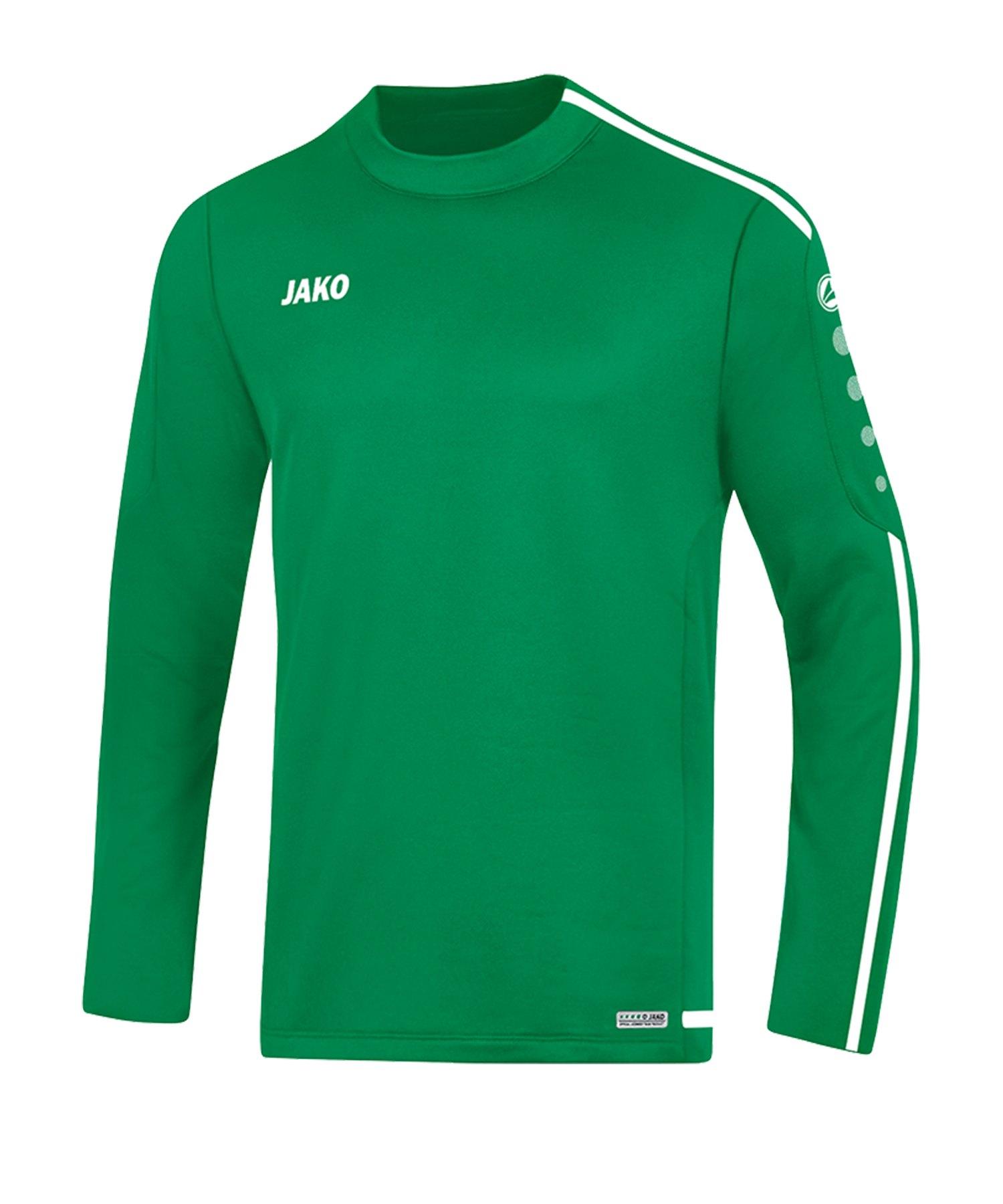 Jako Striker 2.0 Sweatshirt Kids Grün Weiss F06 - Gruen