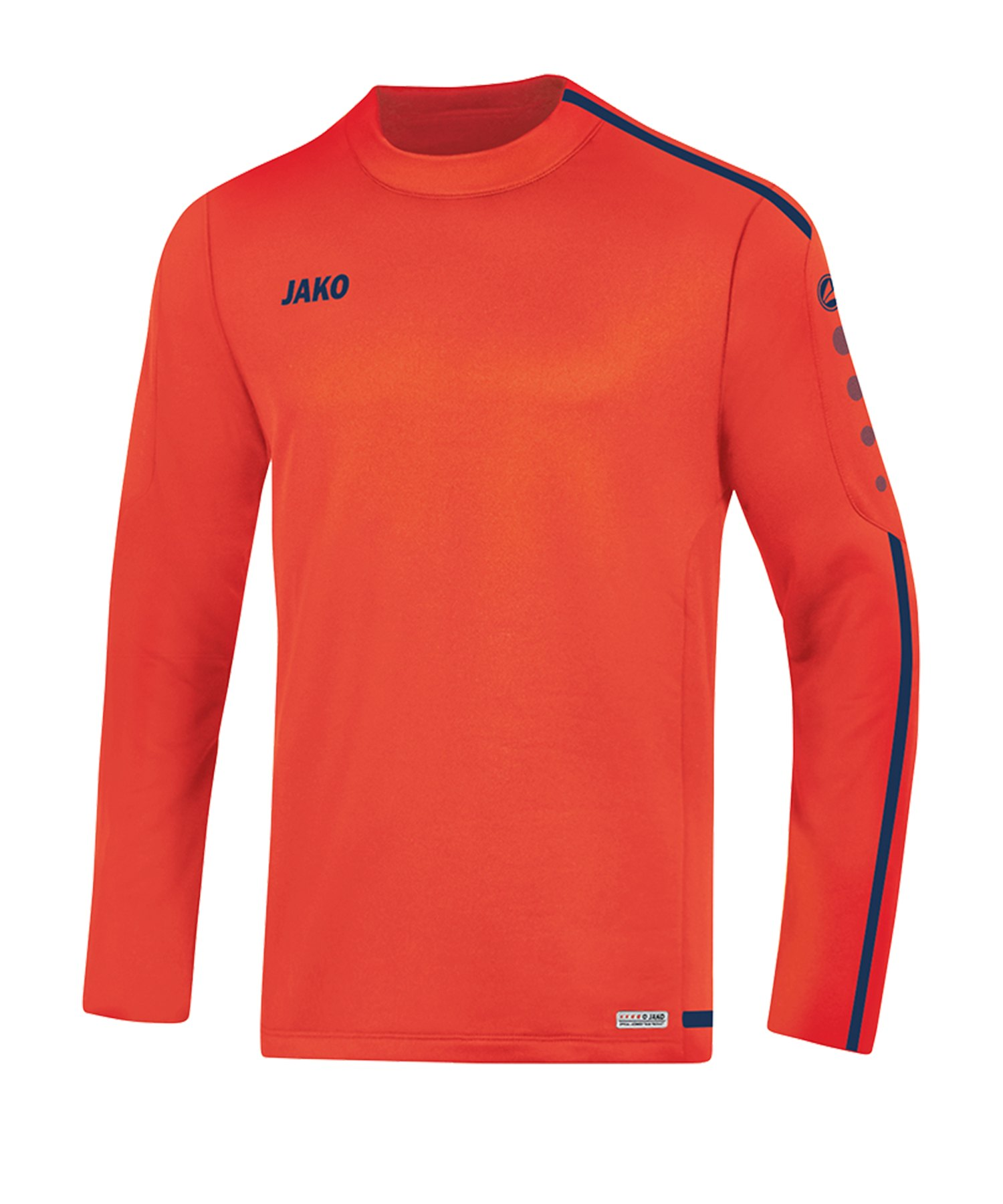 Jako Striker 2.0 Sweatshirt Kids Orange Blau F18 - Orange