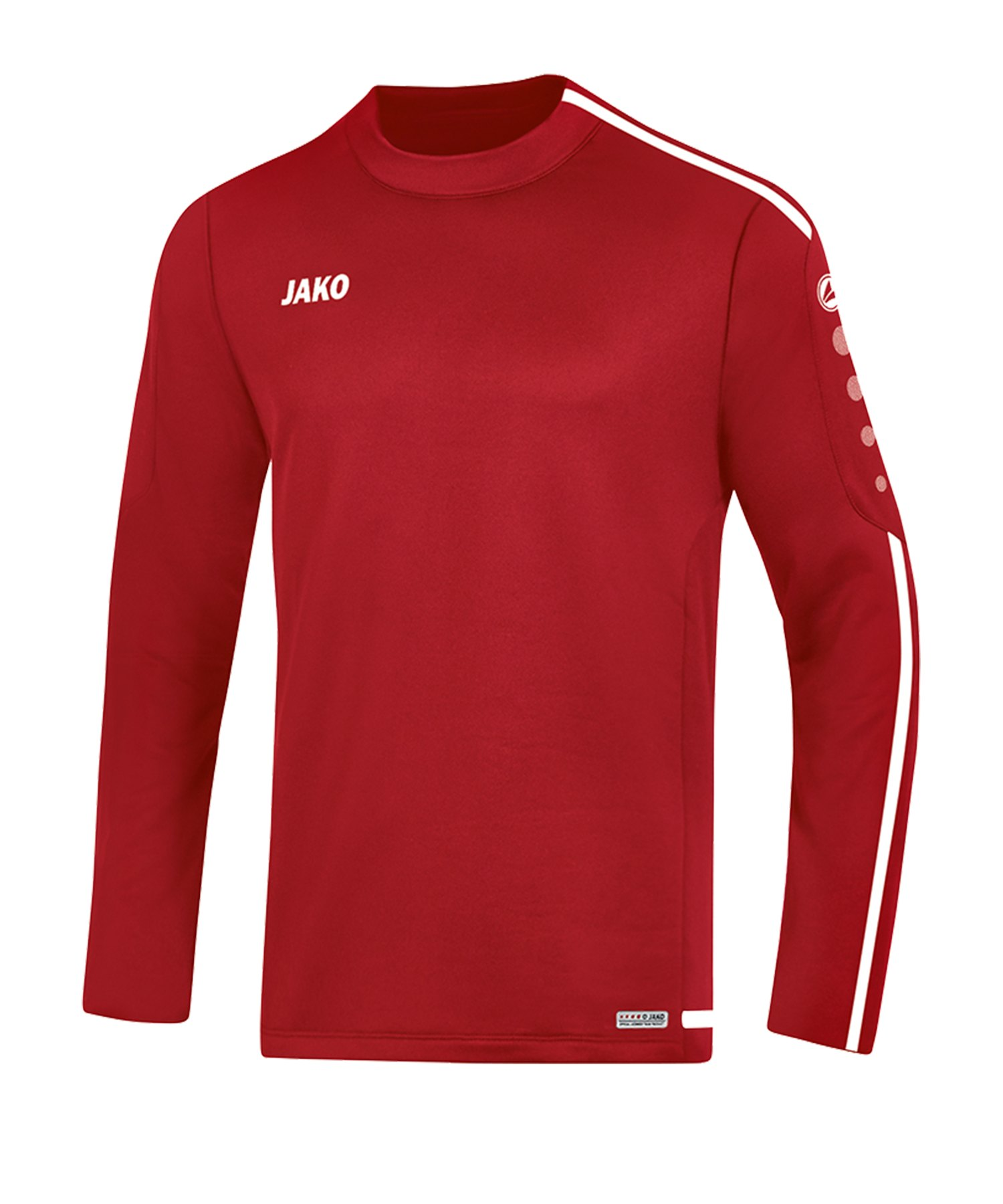 Jako Striker 2.0 Sweatshirt Kids Rot Weiss F11 - Rot