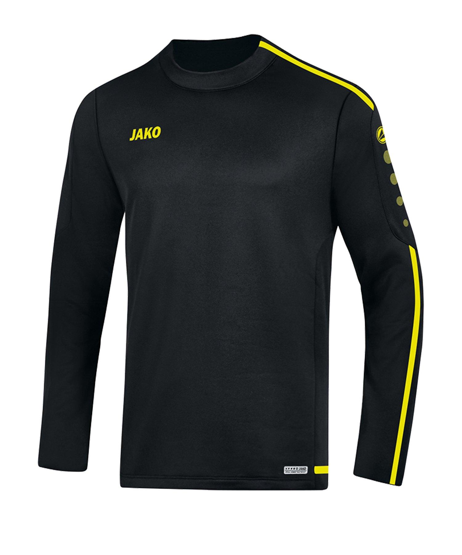 Jako Striker 2.0 Sweatshirt Schwarz Gelb F33 - Schwarz