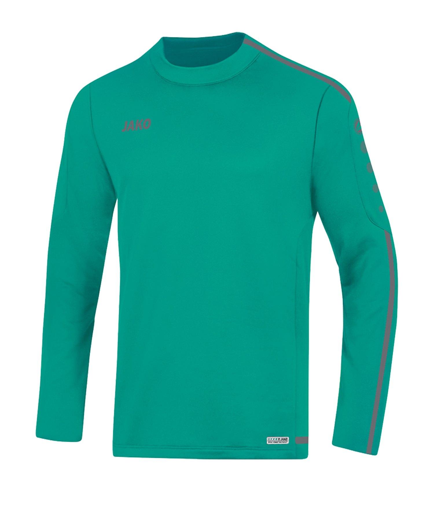Jako Striker 2.0 Sweatshirt Türkis Grau F24 - gruen