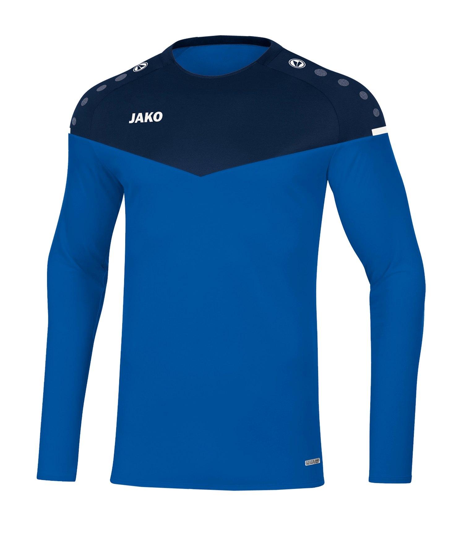 Jako Champ 2.0 Sweatshirt Blau F49 - blau