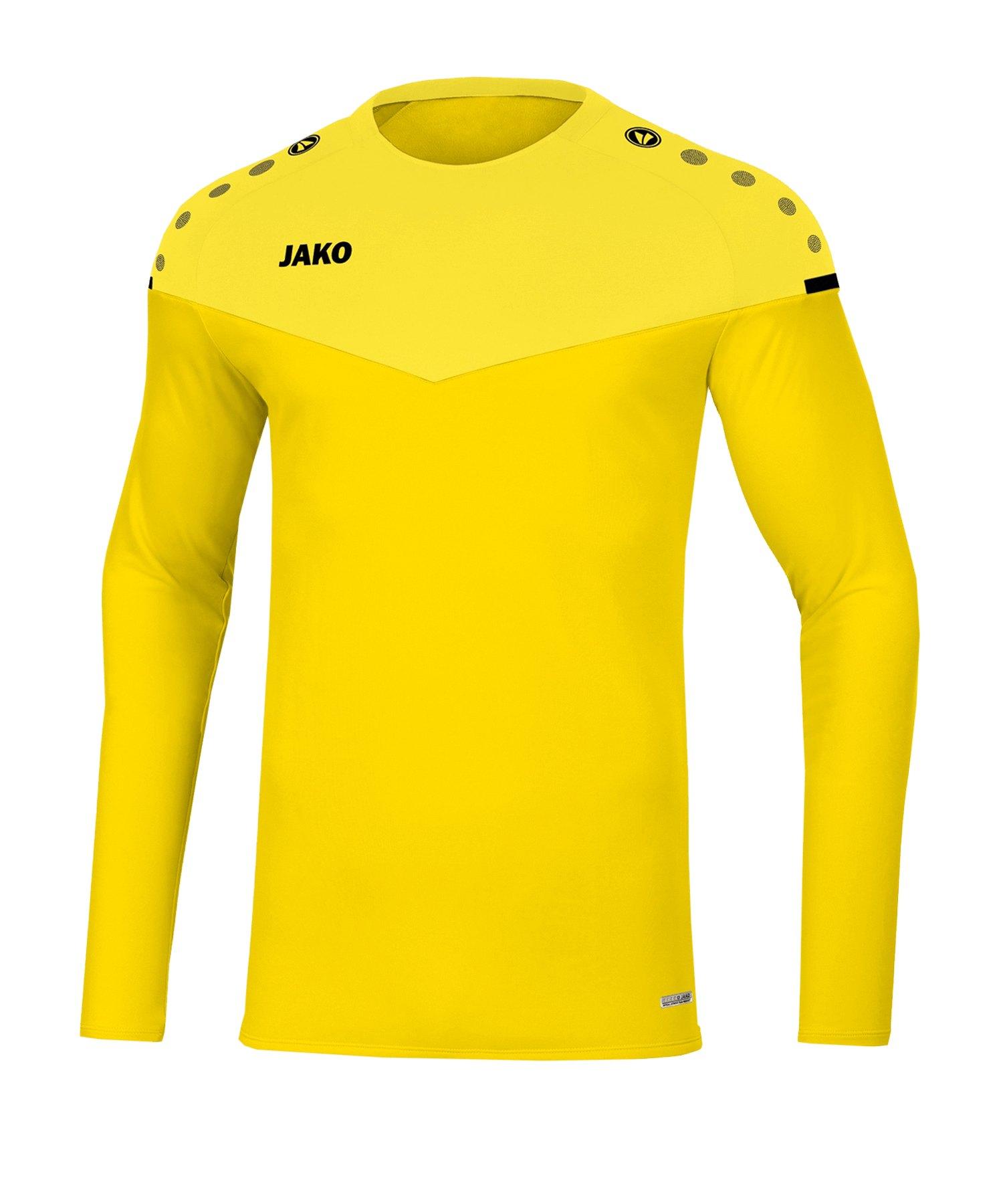 Jako Champ 2.0 Sweatshirt Gelb F03 - gelb