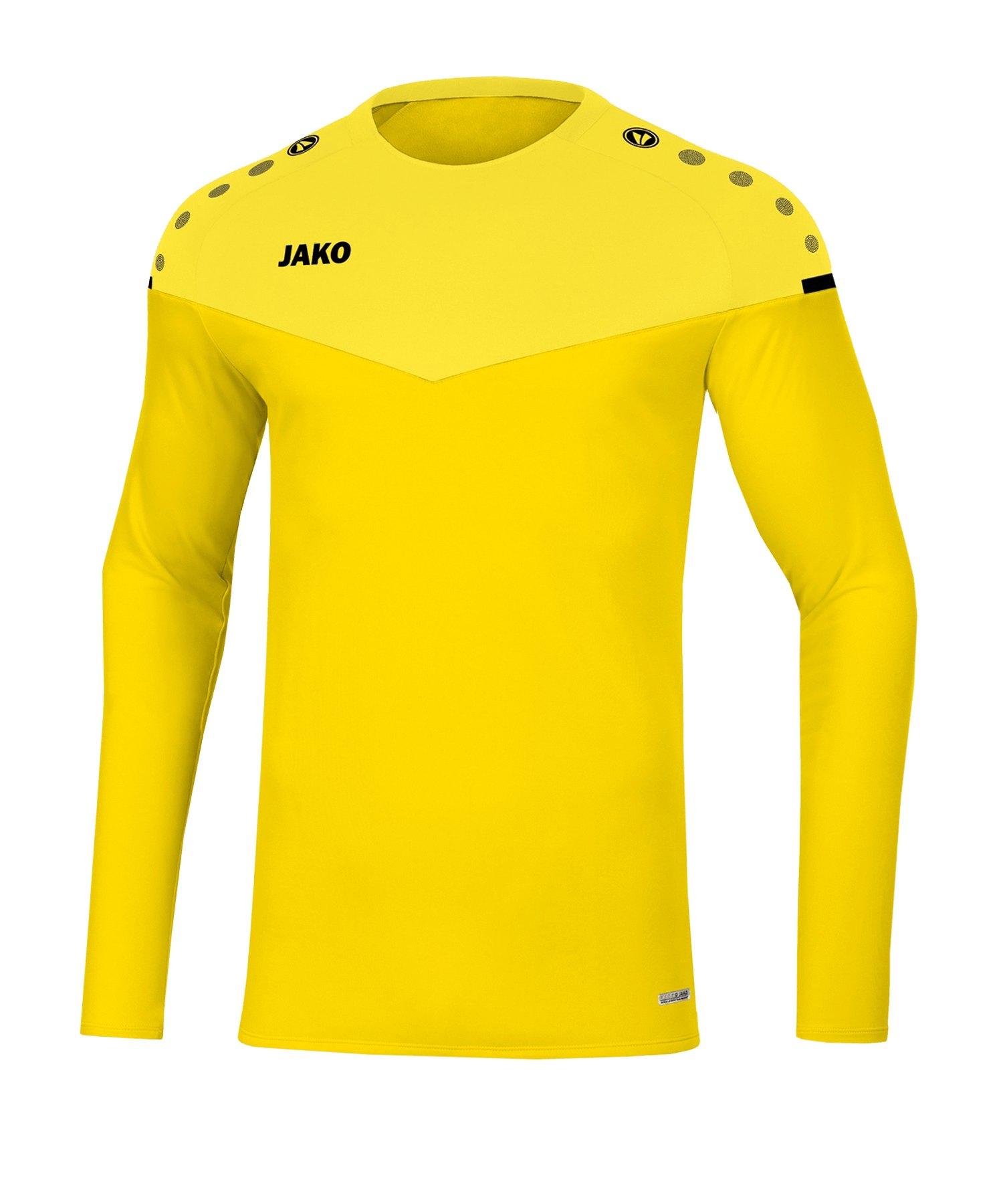 Jako Champ 2.0 Sweatshirt Kids Gelb F03 - gelb