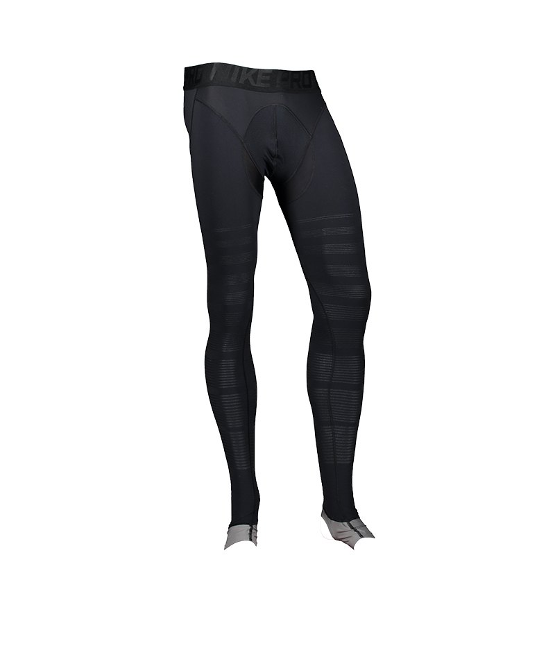 Nike Pro Hyperrecovery Tight Schwarz F010 - schwarz