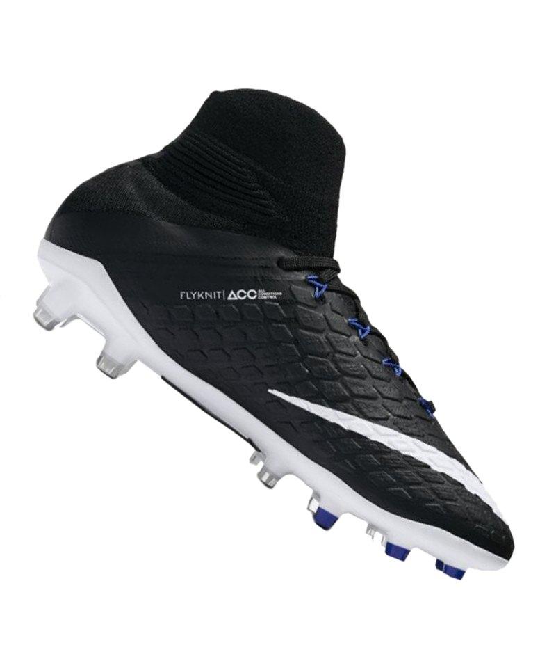 Nike FG Jr Hypervenom Phantom III DF Kinder F002 - schwarz