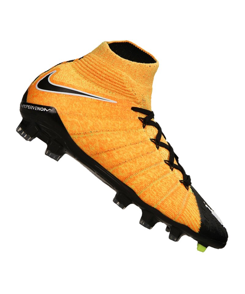 Nike FG Jr Hypervenom Phantom III DF Kinder F801 - orange