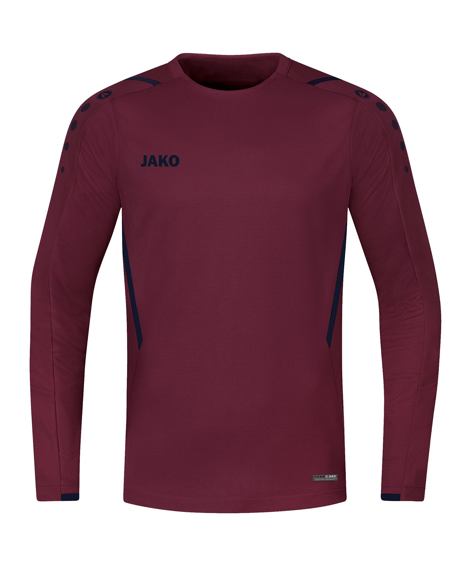 JAKO Challenge Sweatshirt Rot Blau F132 - rot