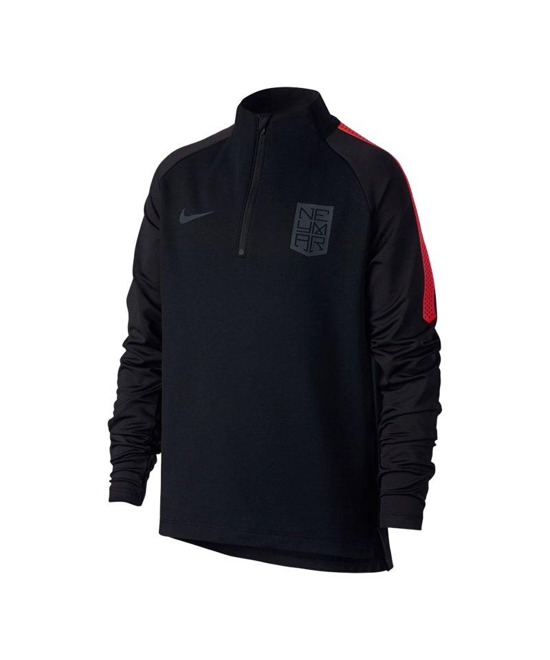 Nike Neymar Dry Squad Drill Sweatshirt Kids F010 - schwarz