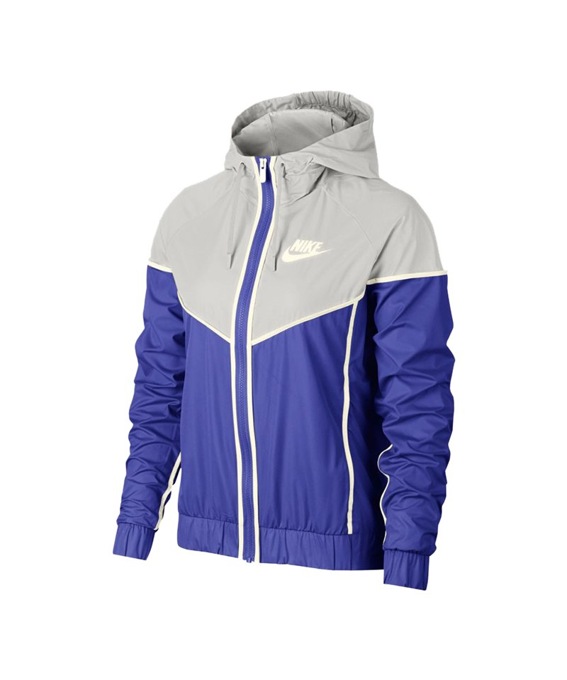 bester Ort für begrenzter Preis beliebte Marke Nike Windrunner Jacket Jacke Damen Blau Grau F518