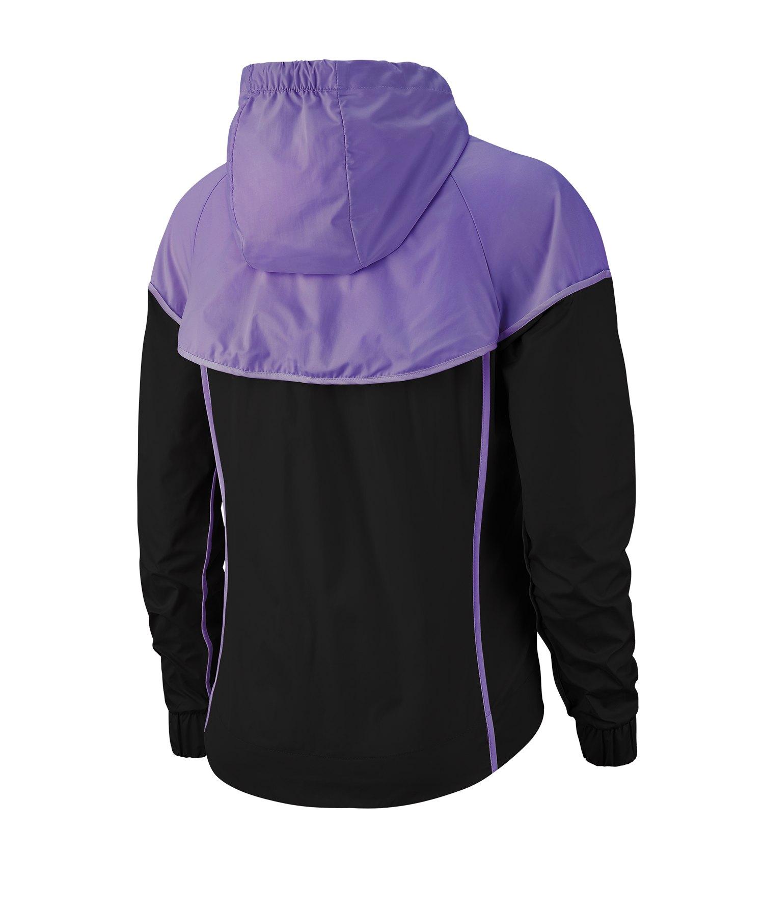 Jacke F014 Damen Lila Nike Windrunner Jacket UzSMVqpG