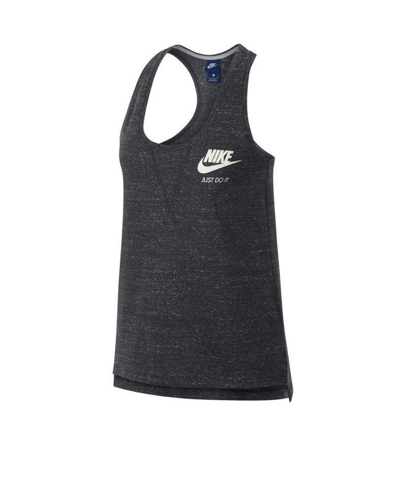 Nike Tank Top Gym Vintage Damen Grau F060 - grau