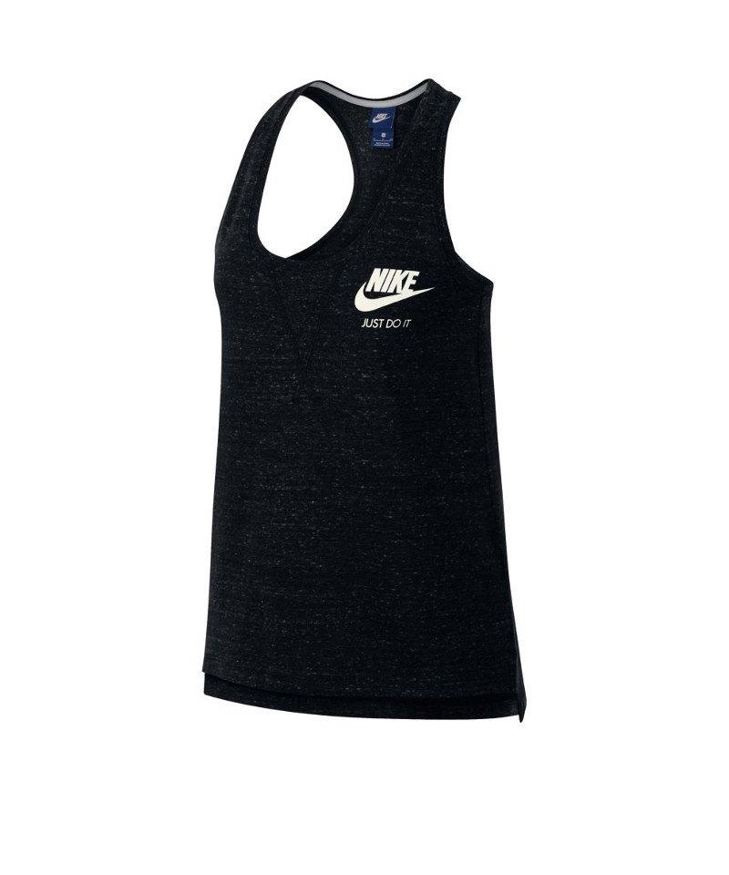 Nike Tank Top Gym Vintage Damen Schwarz F010 - schwarz