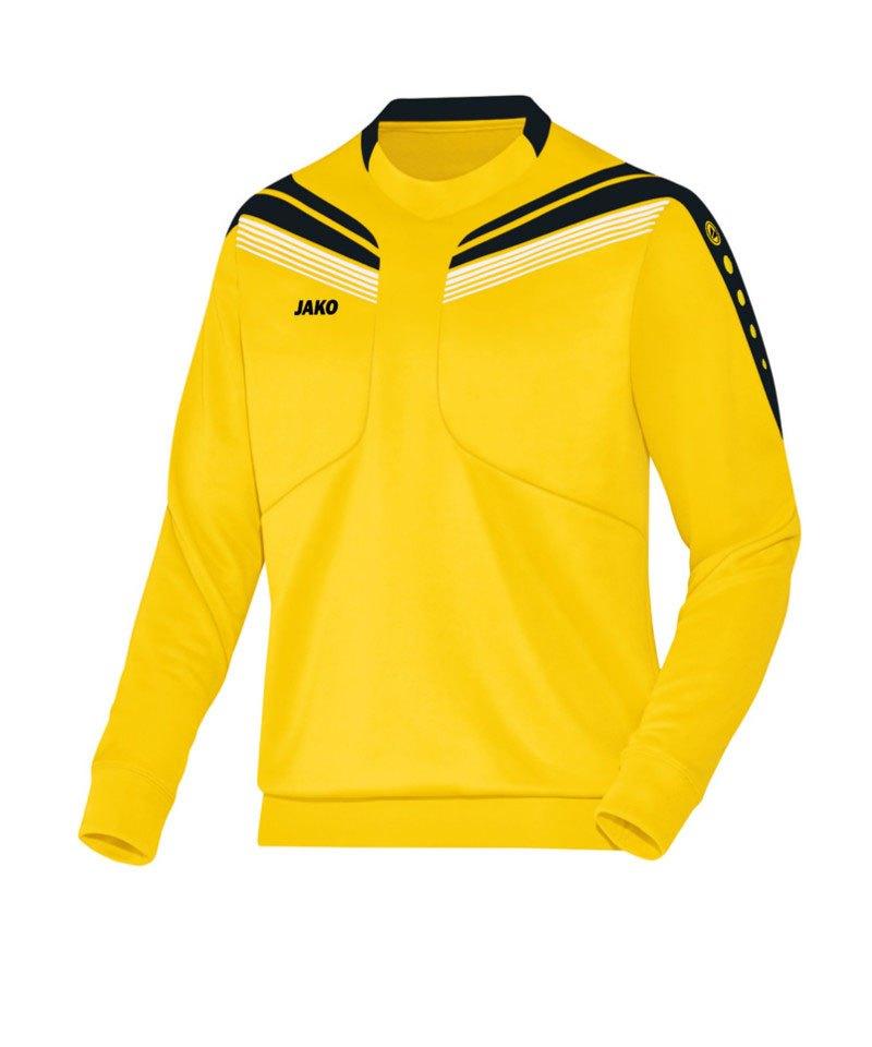 Jako Sweatshirt Pro Sweat Kinder Gelb Schwarz F03 - gelb