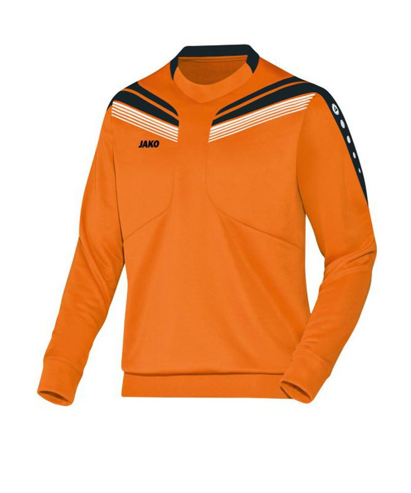 Jako Sweatshirt Pro Sweat Kinder Orange Schwarz F19 - orange