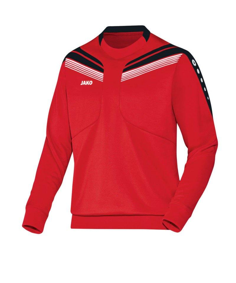 Jako Sweatshirt Pro Sweat Kinder Rot Schwarz F01 - rot