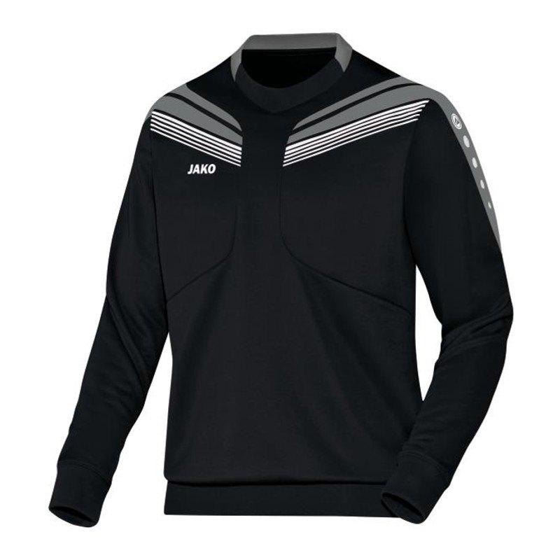 Jako Sweatshirt Pro Sweat Kinder Schwarz Grau F08 - schwarz
