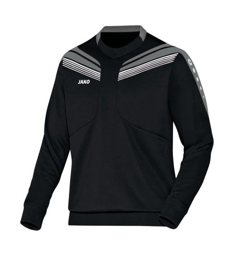 Jako Sweatshirt Pro Sweat Schwarz Grau F08 - schwarz