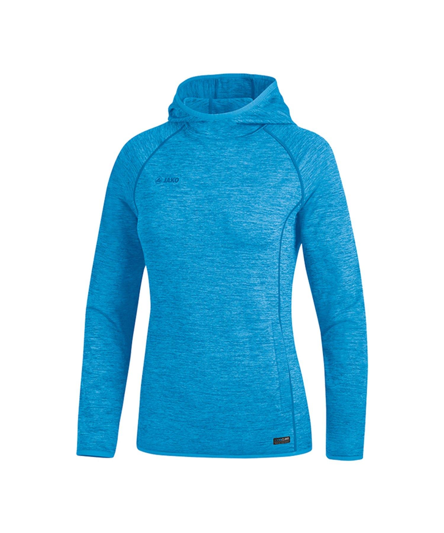 Jako Active Kapuzensweatshirt Damen Blau F89 - Blau
