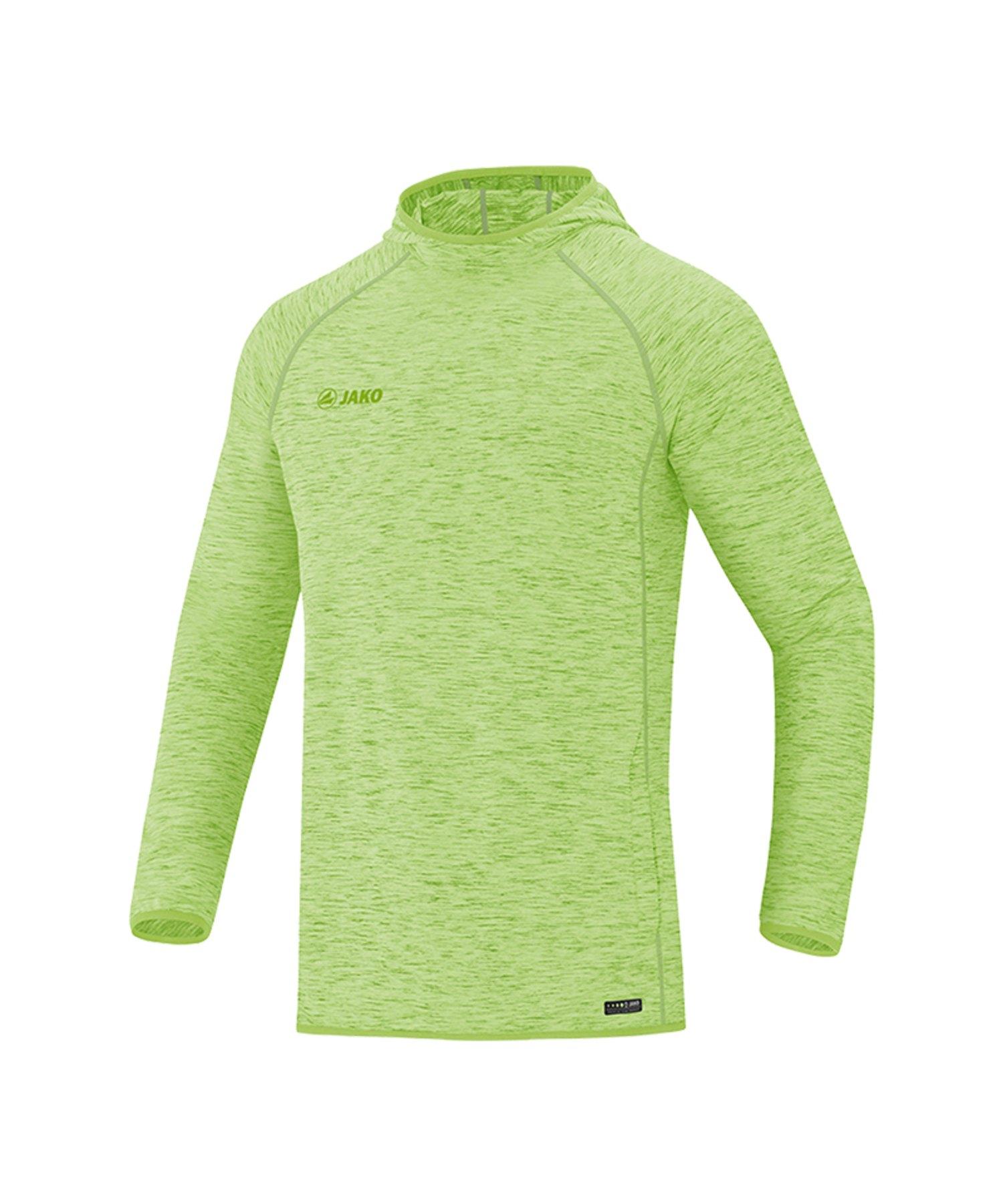 Jako Active Kapuzensweatshirt Grün F25 - Gruen