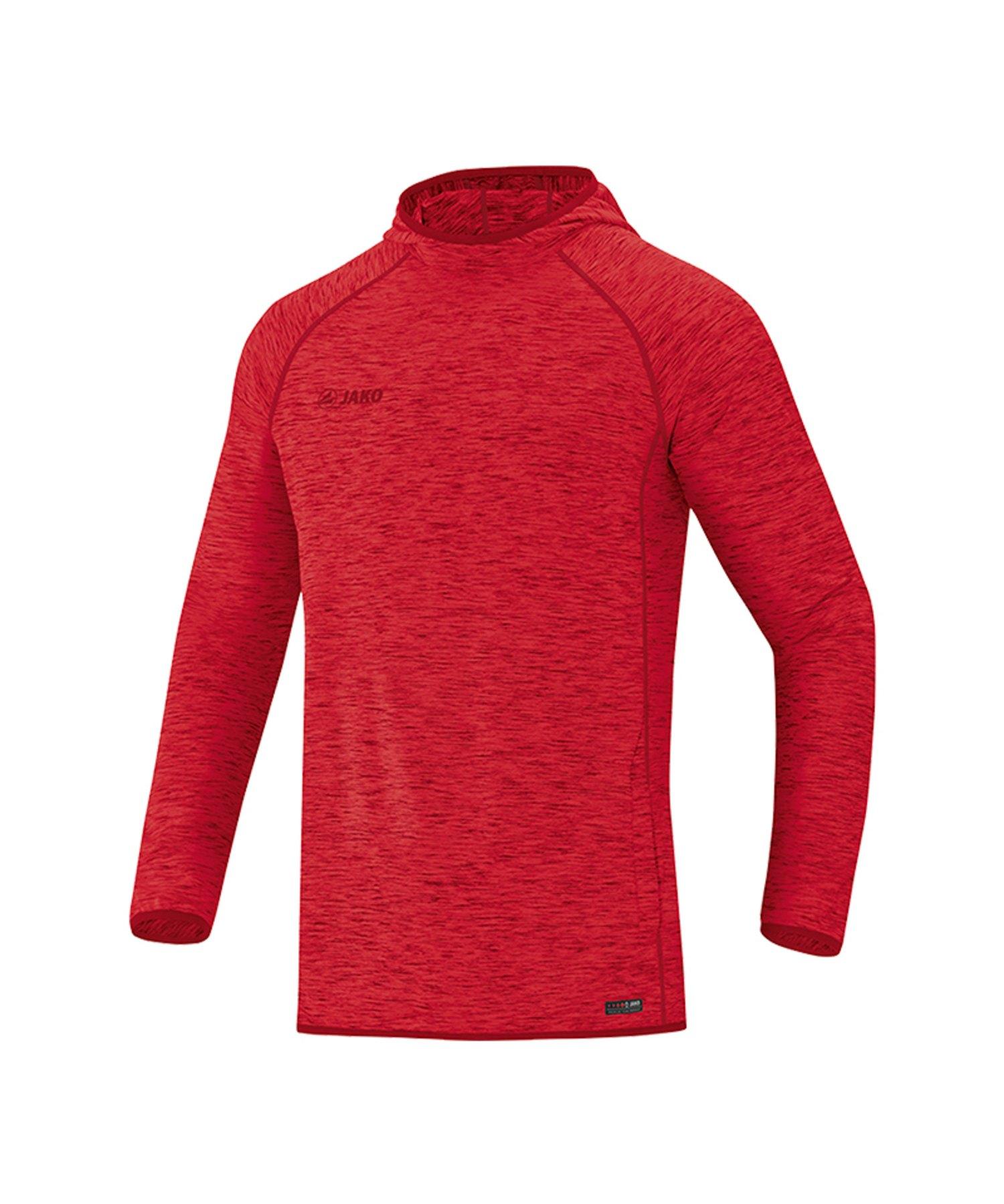 Jako Active Kapuzensweatshirt Rot F01 - Rot