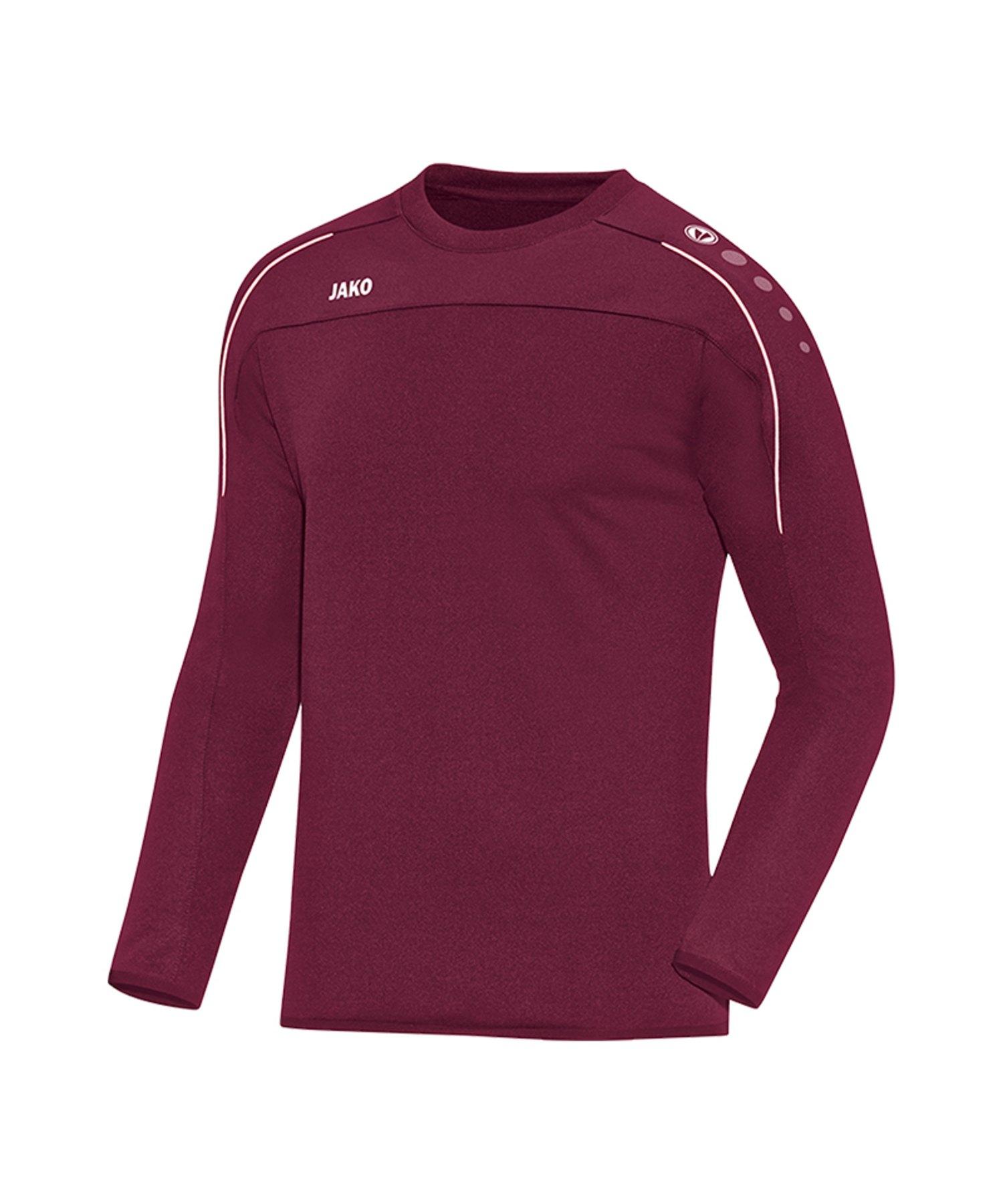 Jako Classico Sweatshirt Kids Dunkelrot F14 - Rot