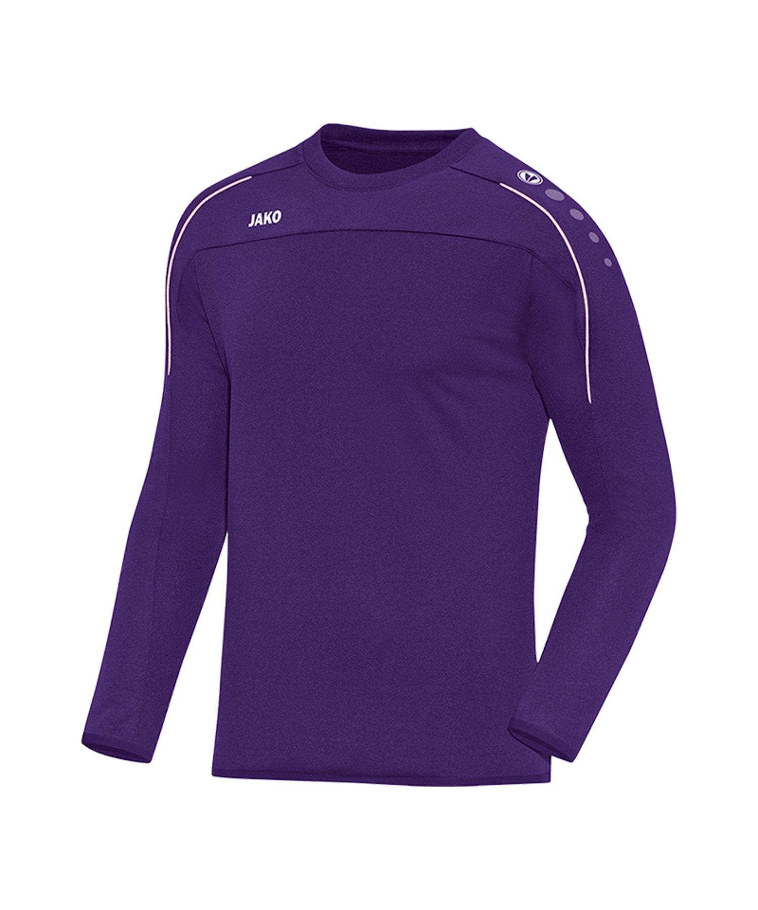 Jako Classico Sweatshirt Lila F10 - Lila
