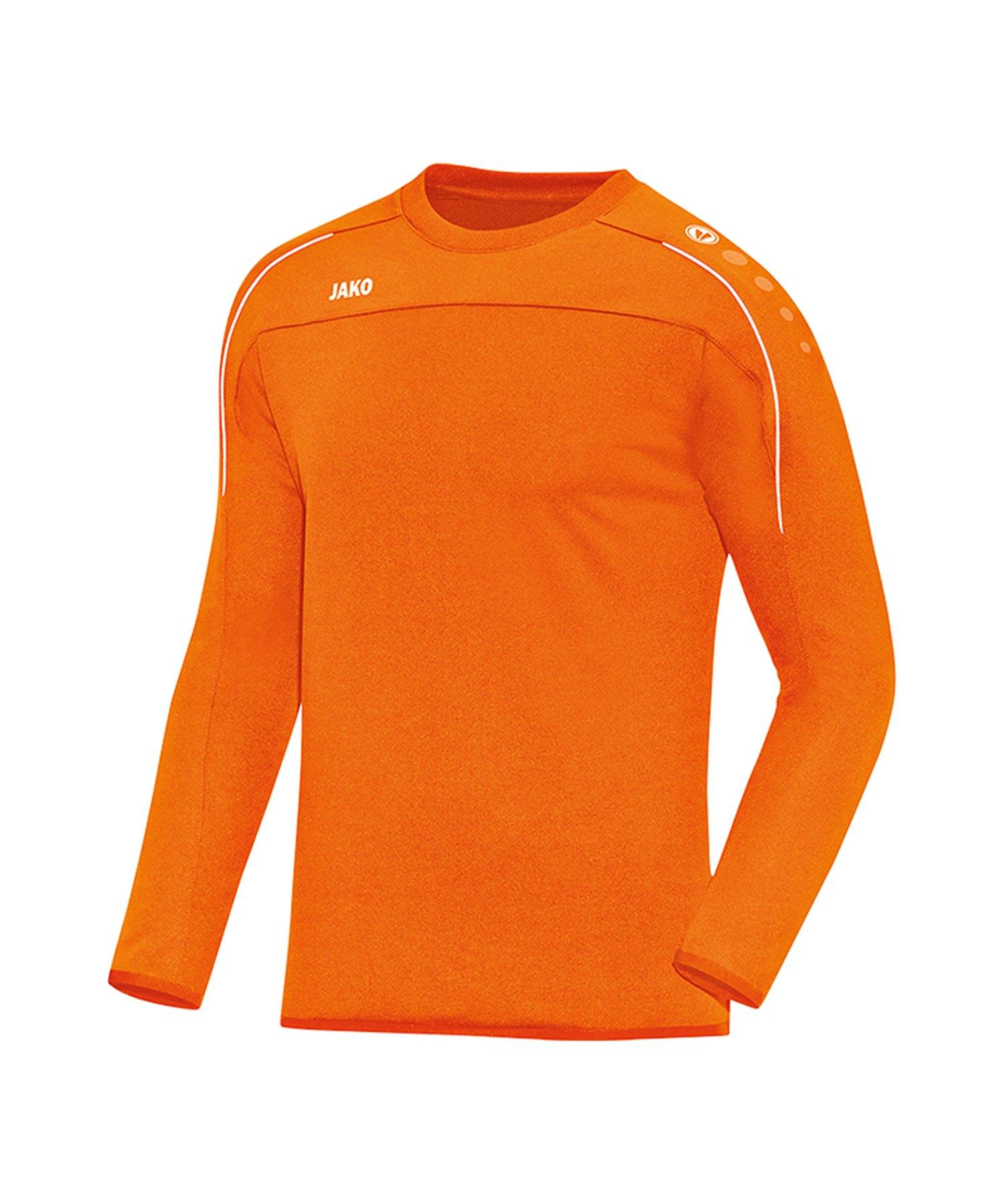 Jako Classico Sweatshirt Orange F19 - Orange