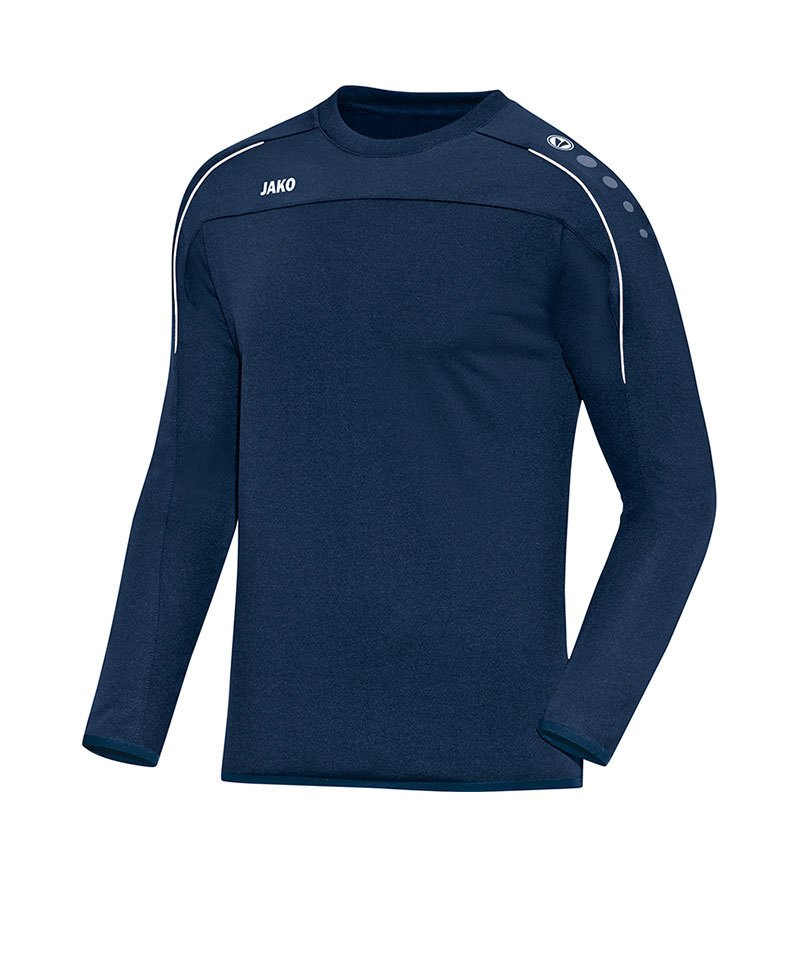 Jako Sweatshirt Classico Blau Weiss F09 - blau
