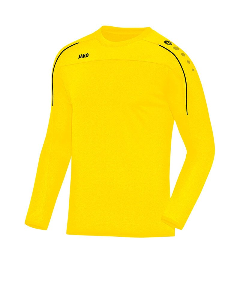 Jako Sweatshirt Classico Kinder Gelb Schwarz F03 - gelb