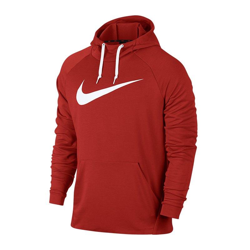 Nike Dry Swoosh Kapuzensweatshirt Rot F622 - Rot