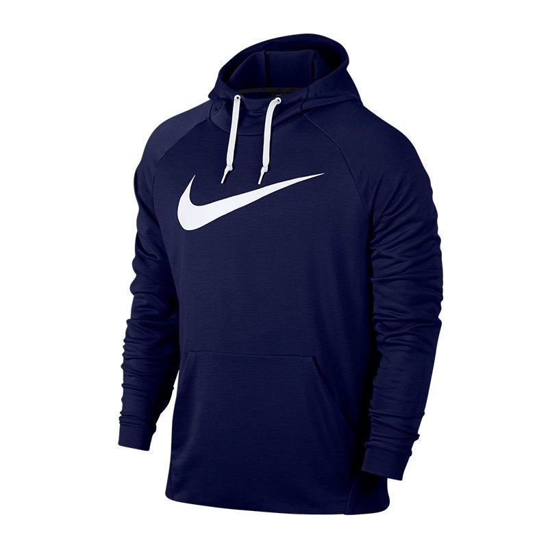 Nike Dry Training Hoody Kapuzensweatshirt F492 - blau
