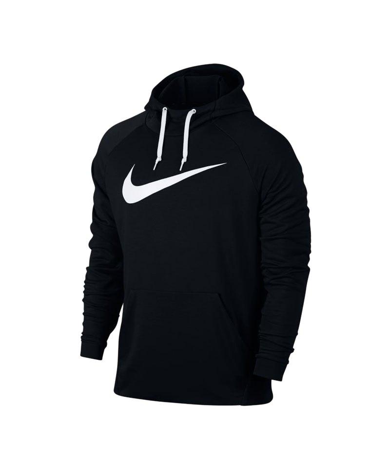 Nike Kapuzensweatshirt Dry Training Hoody F010 - schwarz