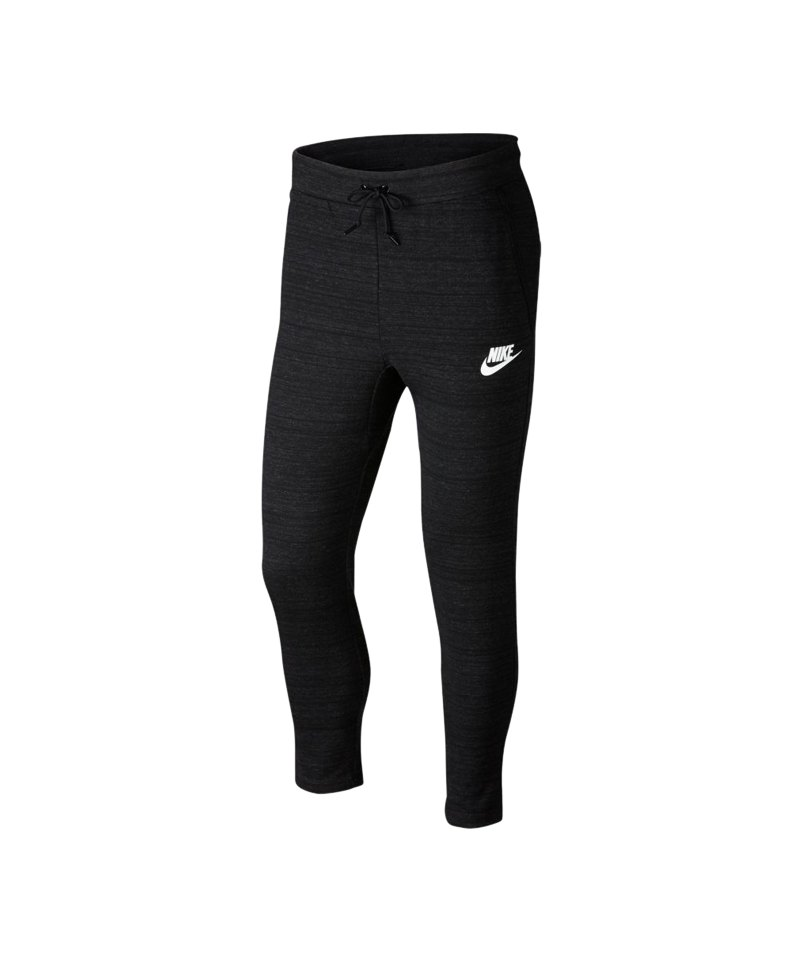 Nike Advance 15 Hose lang Schwarz F010 - schwarz