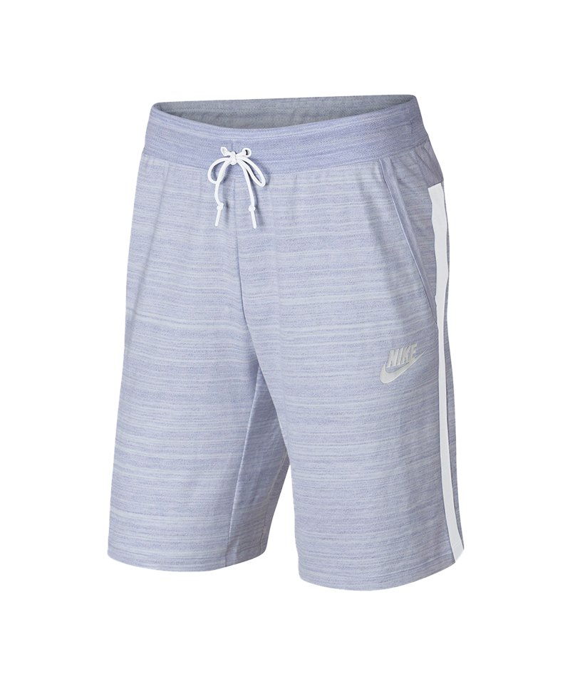 Nike Advance 15 Short Hose kurz Blau Weiss F101 - blau