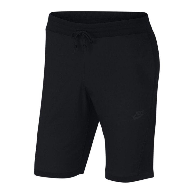 Nike Tech Knit Short Hose kurz Schwarz F010 - schwarz