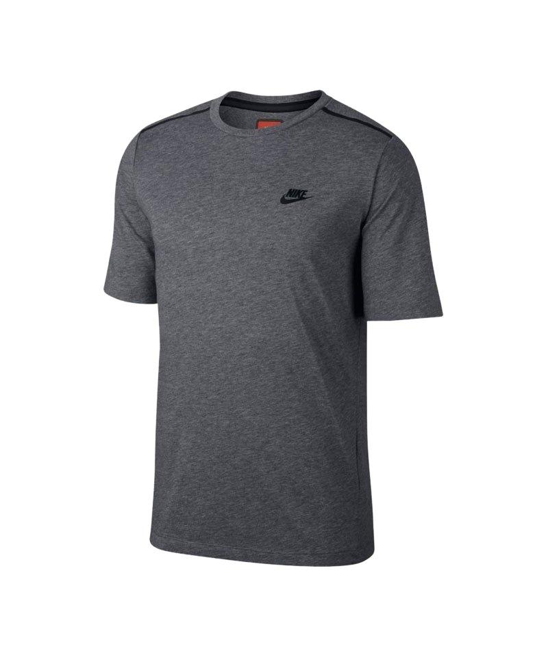Nike Bonded Top T-Shirt Grau F091 - grau