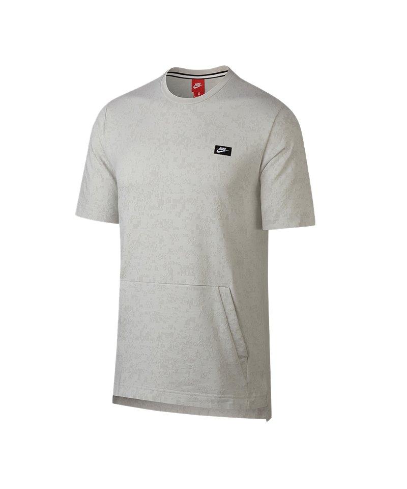 Nike Modern Crew T-Shirt Grau F072 - grau