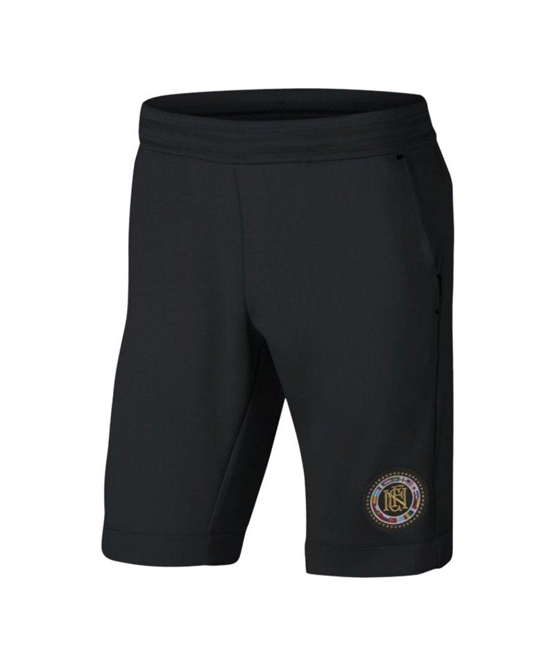 Nike F.C. Short Hose kurz Schwarz F010 - schwarz
