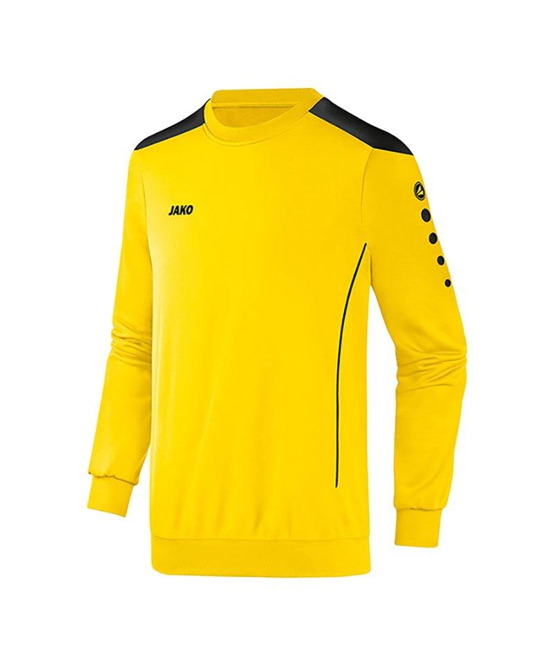 Jako Sweatshirt Cup F03 Gelb Schwarz - gelb