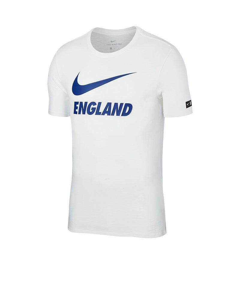 Nike England Slub Dry Tee T-Shirt Weiss F100 - weiss