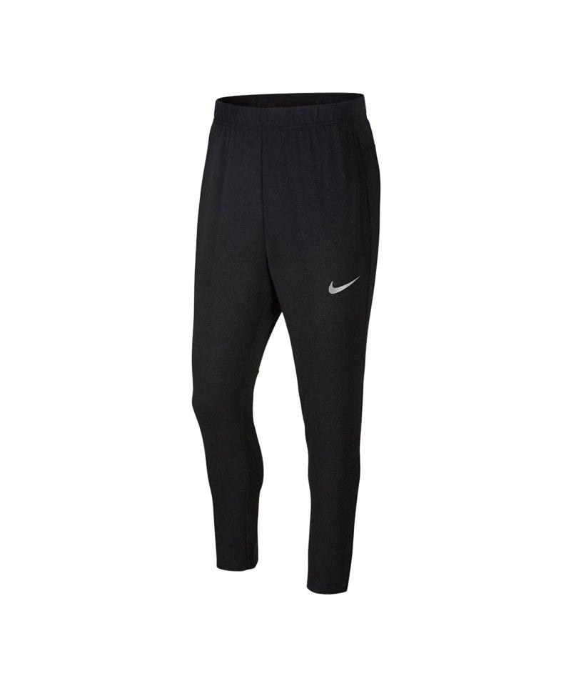 Nike Dry Training Hose lang Schwarz F010 - schwarz