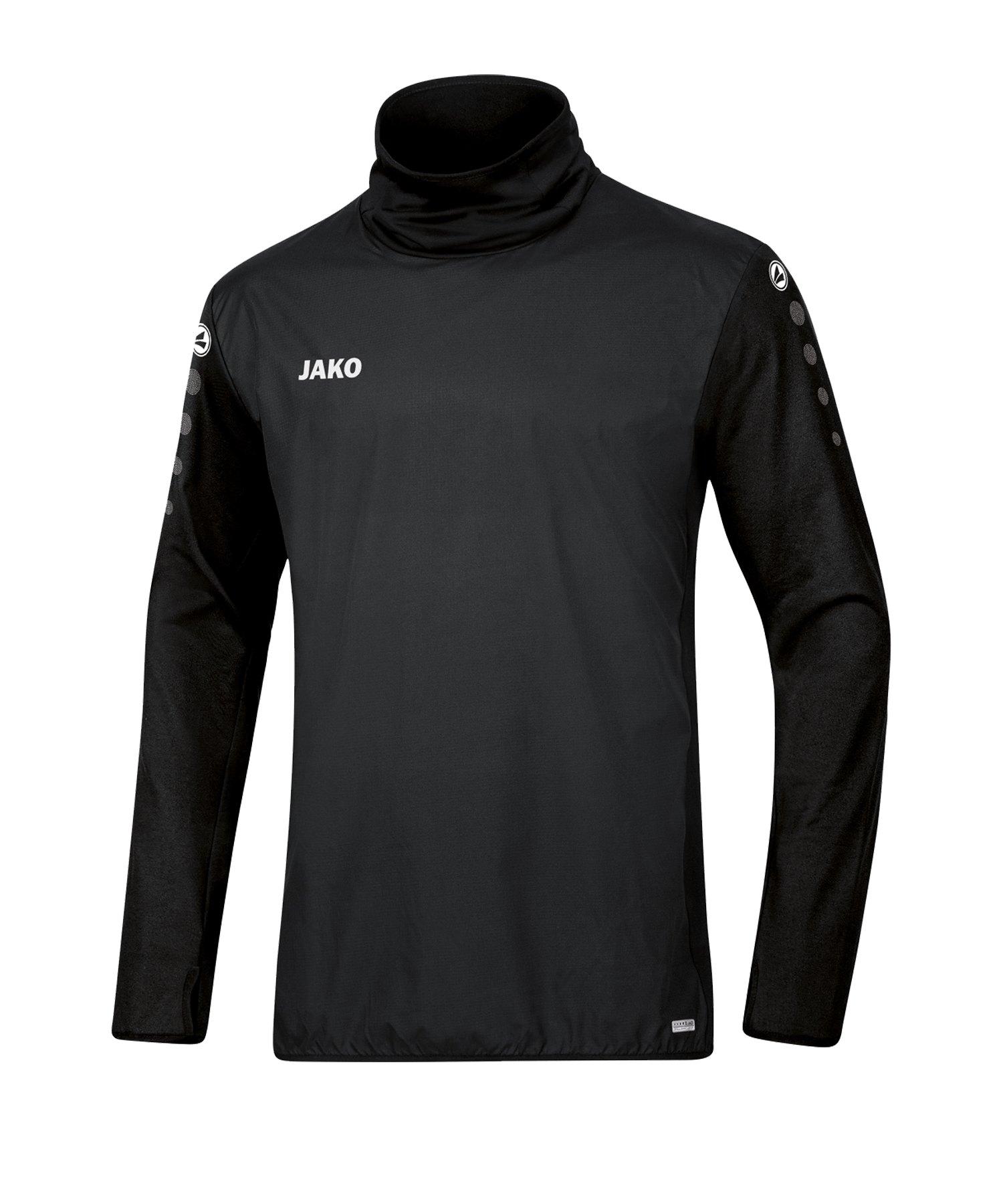 JAKO Trainingstop Winter Schwarz F08 - schwarz