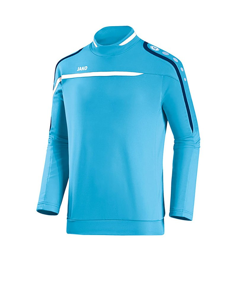 Jako Sweatshirt Performance F45 Blau Weiss - blau