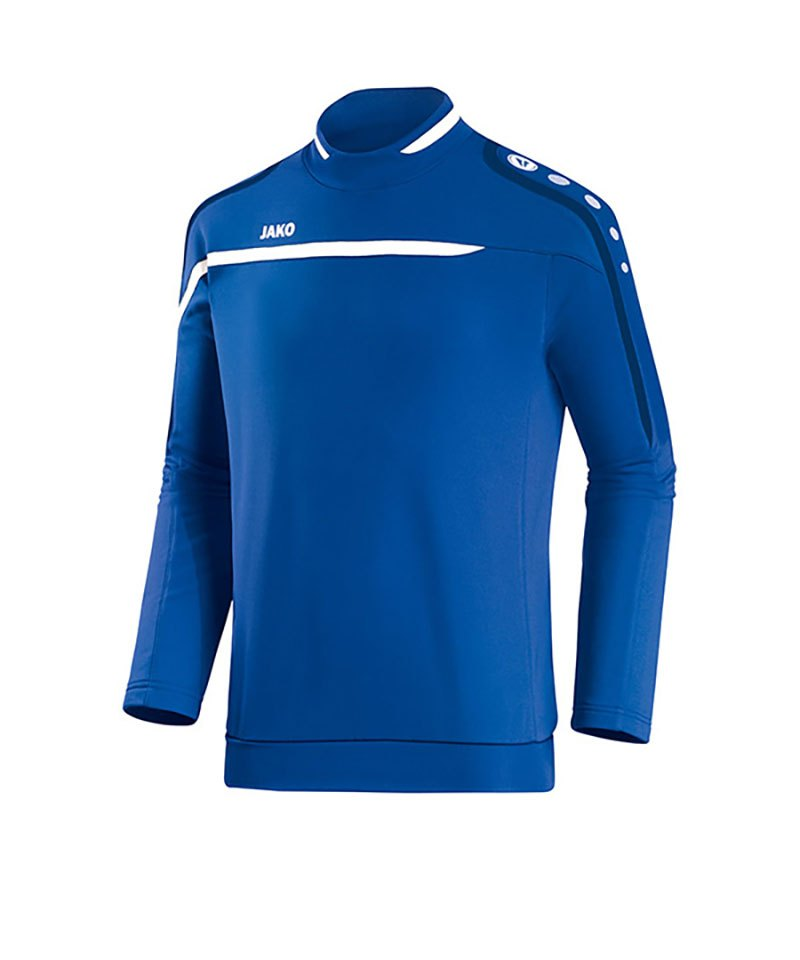 Jako Sweatshirt Performance F49 Blau Weiss - blau