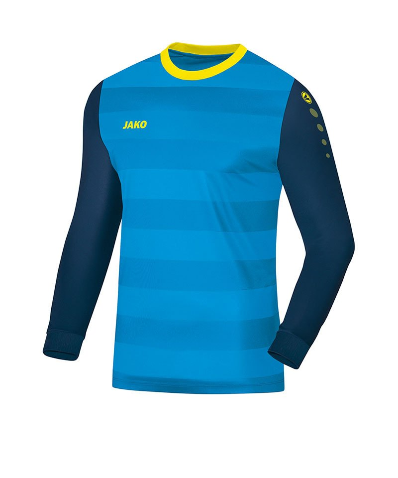Jako Torwarttrikot Leeds Blau Gelb F89 - blau
