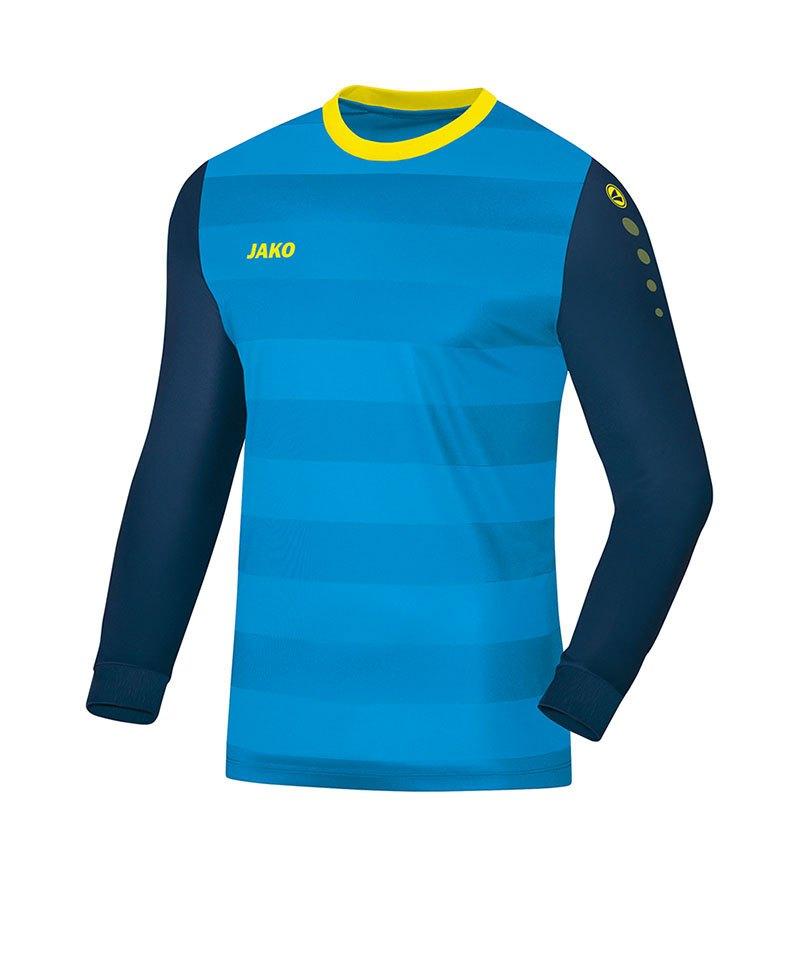 Jako Torwarttrikot Leeds Kinder Blau Gelb F89 - blau