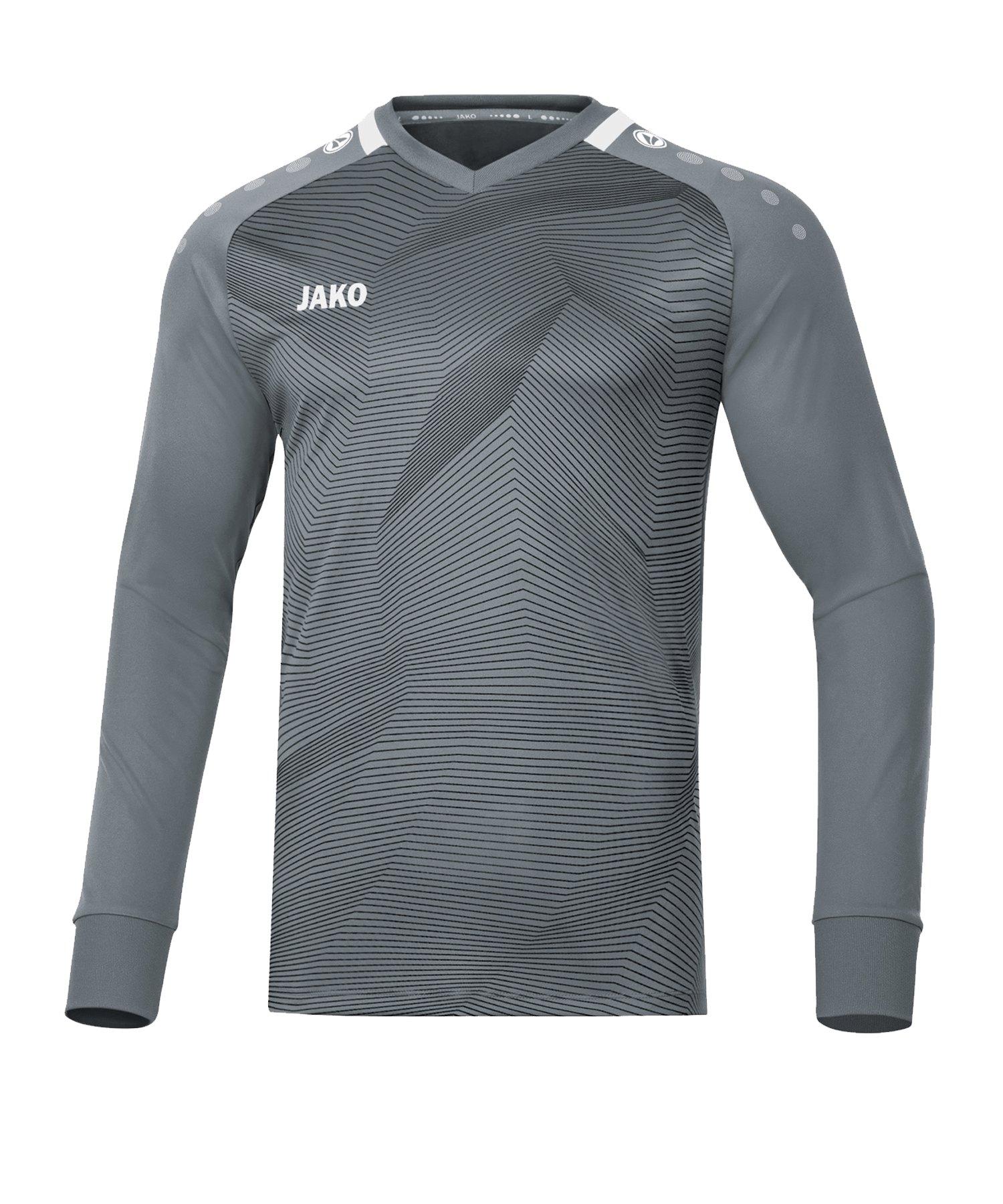 JAKO Goal Torwarttrikot Grau F40 - grau