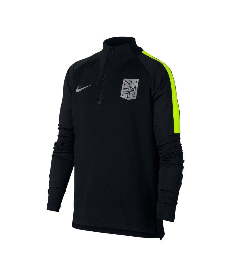 Nike Neymar Dry Squad Drill Top Kids Schwarz F010 - schwarz